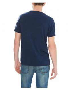 LEVI'S T-Shirt - Batwing Tee - Dress Blues - Hinten