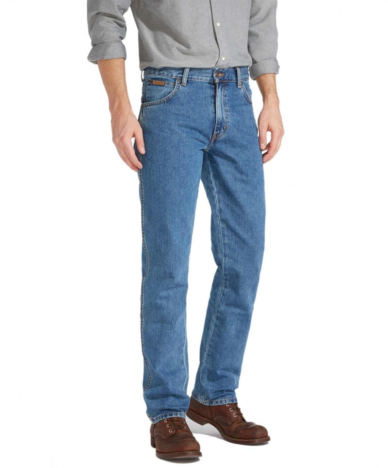 Wrangler Texas Jeans in Stonewash W121 05 096
