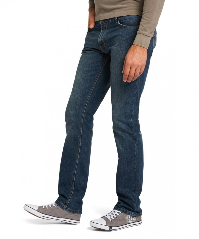 HIS STANTON Jeans - Straight Leg - Dark Sand Blue