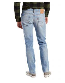 Levis 511 - Slim Fit Jeans in hellblauer Waschung - Hinten