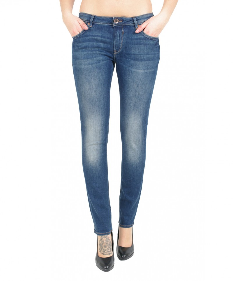 GARCIA Rachelle Jeans - Slim Fit - Dark Blue Used