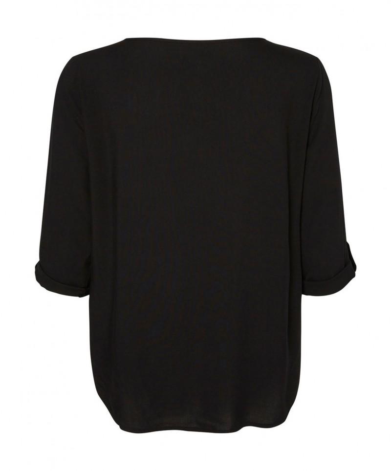 VERO MODA BUCI - 3/4-Ärmel Shirt - Schwarz