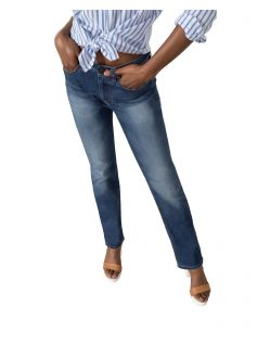 HIS COLETTA Jeans - Straight Fit - Medium Blue