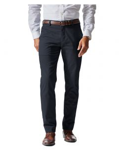 DOCKERS INSIGNIA - Stretch Satin - Dunkelblau