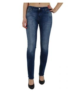Vero Moda Flashy - Slim Fit Jeans - Medium Blue Denim