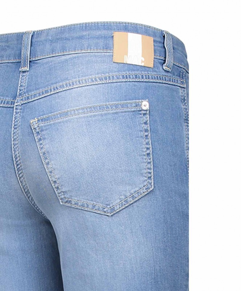 MAC ANGELA Jeans - Slim Fit - Light Blue Authentic Wash