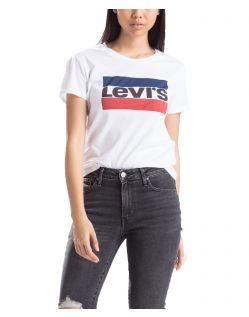 Levi's T-Shirt - The Perfect Tee - Sportswear White