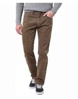 Pioneer Rando - braune Stoffhose im Regular Fit