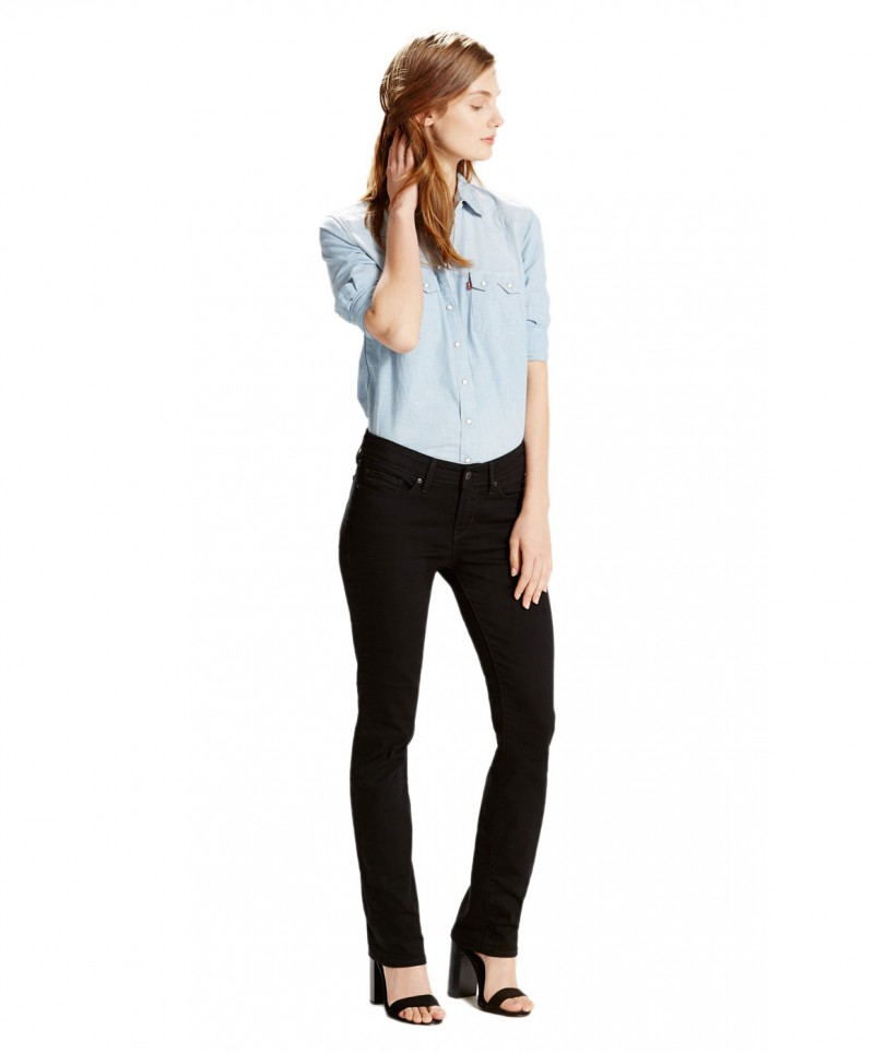 Levis 712 Slim - Straight Leg - Black Sheep
