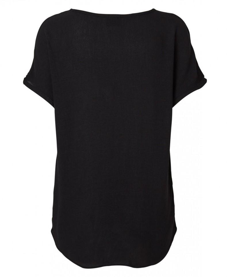 VERO MODA T-Shirt - Asta - Schwarz