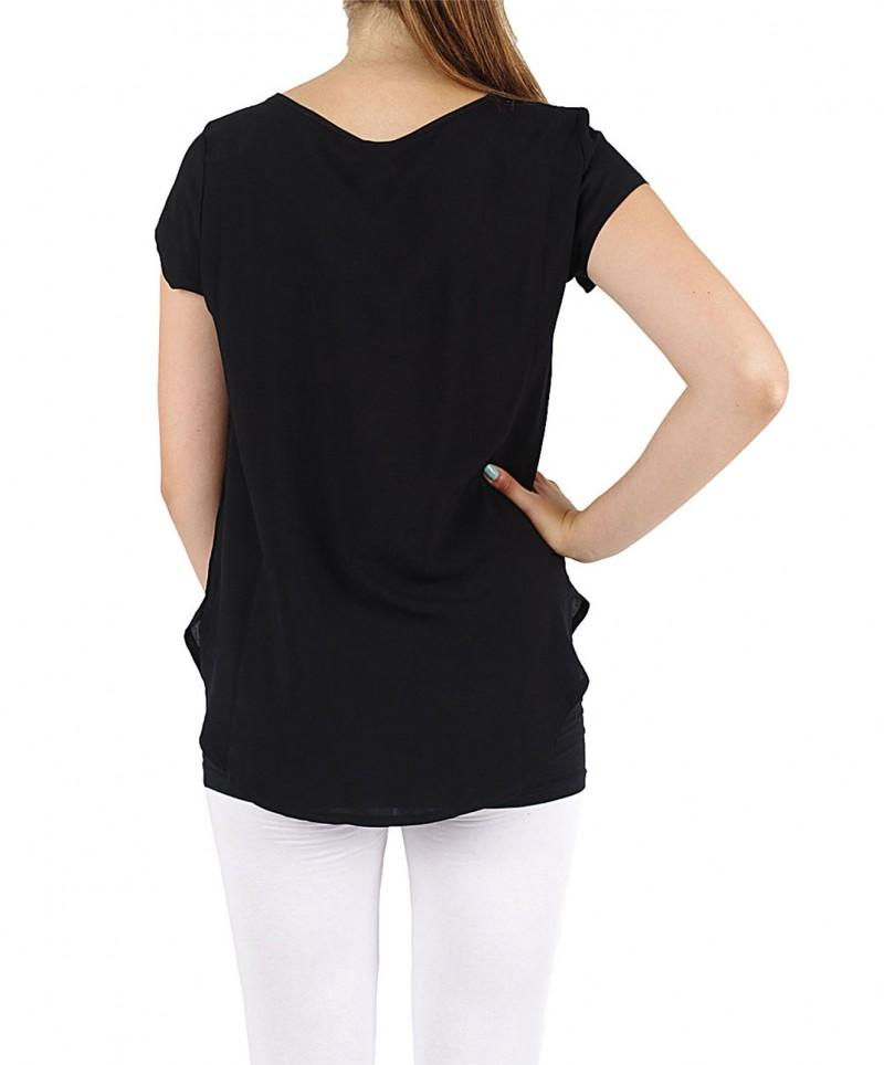 Vero Moda BOCA SS Top - Bluse - black