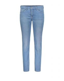 MAC Carrie Pipe - Straight Fit Jeans - Light Blue Used