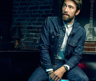 Jeans Jacken fuer Herren