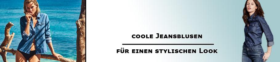 coole Jeansblusen für Frauen
