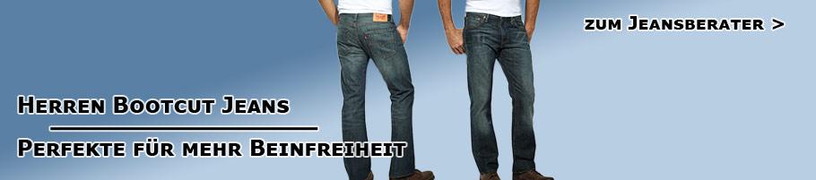 Bootcut Jeans für Herren