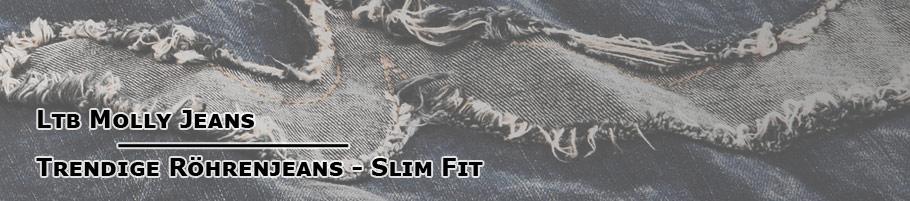 Trendige Röhrenjeans - Slim Fit