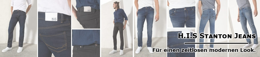 HIS Jeans Stanton - Straight Fit Jeanshose