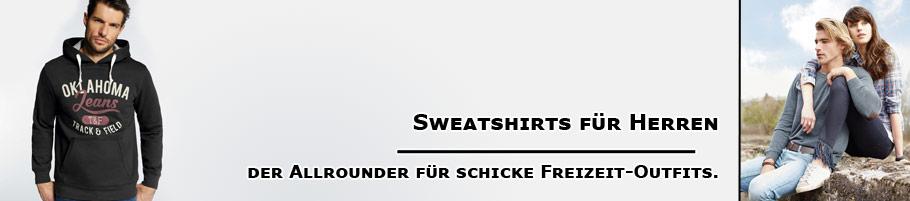 Sweatshirts für Herren