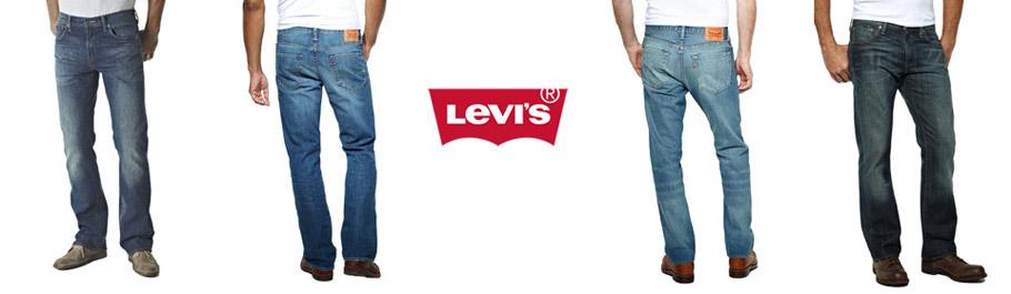 levis herren jeans 0527 bootcut