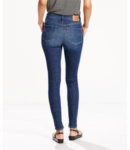 High Waisted - Jeans für Damen - Hinten