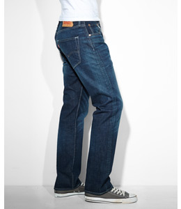 Herren Jeans - Regular Fit - Seite