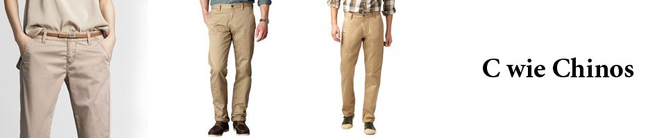 Chinos bei jeans-meile