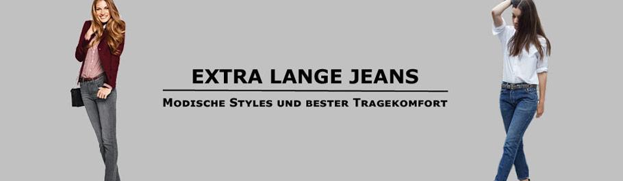 Extra Lange Damen Jeans