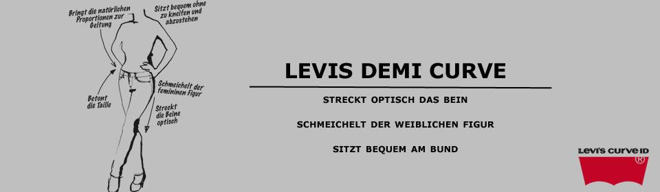 Levis Demi Curve online kaufen